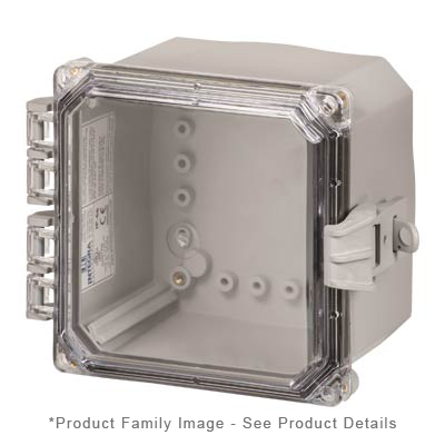 Integra H6064HCFNL NEMA 4X Polycarbonate Enclosure