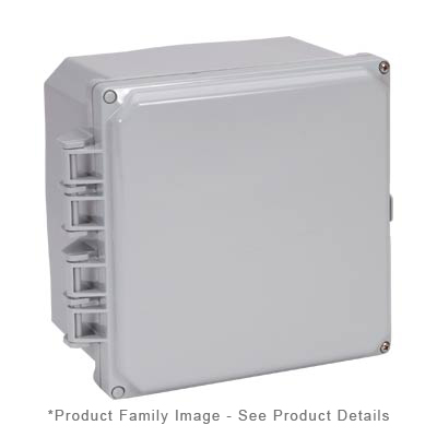 Integra H6064HF-6P NEMA 4X and 6P Polycarbonate Enclosure