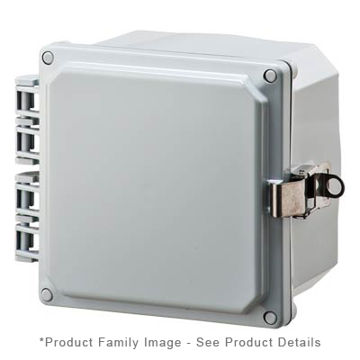 Integra H6064HLL NEMA 4X Polycarbonate Enclosure