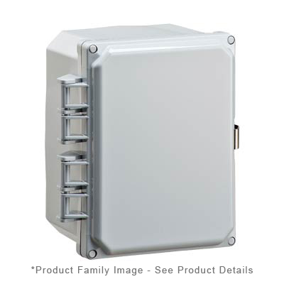 Integra H8084H NEMA 4X Polycarbonate Enclosure
