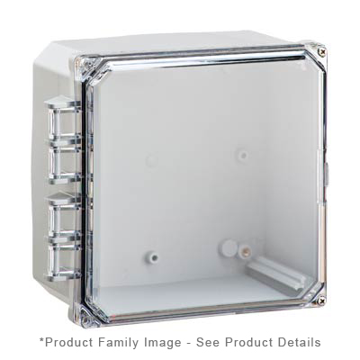 Integra H8084HCF-6P NEMA 4X and 6P Polycarbonate Enclosure