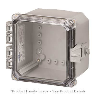 Integra H8084HCFNL NEMA 4X Polycarbonate Enclosure