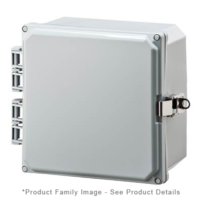 Integra H8084HFLL NEMA 4X Polycarbonate Enclosure