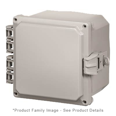 Integra H8084HFNL NEMA 4X Polycarbonate Enclosure