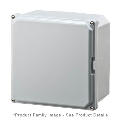 Integra H8084S NEMA 4X and 6P Polycarbonate Enclosure