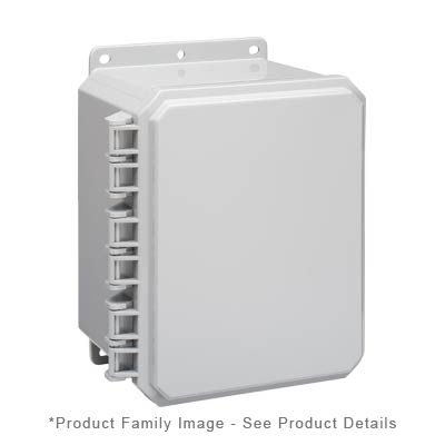 Integra P10086 NEMA 4X and 6P Polycarbonate Enclosure