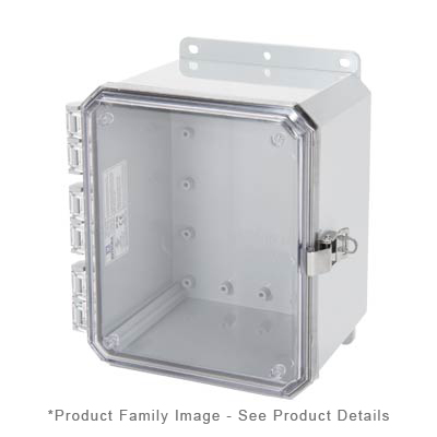 Integra P10086CLL NEMA 4X Polycarbonate Enclosure