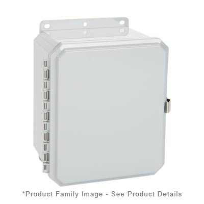 Integra P10086LP NEMA 4X and 6P Polycarbonate Enclosure