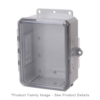 Integra P10086LPC NEMA 4X and 6P Polycarbonate Enclosure