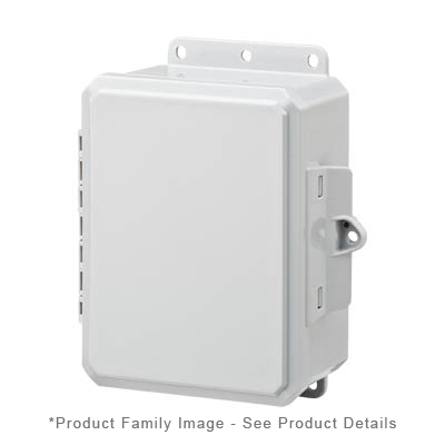 Integra P10086LPLL NEMA 4X Polycarbonate Enclosure