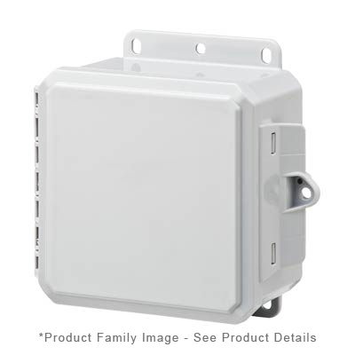 Integra P6063 NEMA 4X and 6P Polycarbonate Enclosure
