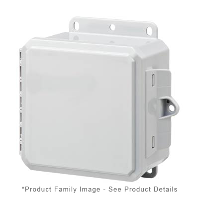 Integra P6063C NEMA 4X and 6P Polycarbonate Enclosure