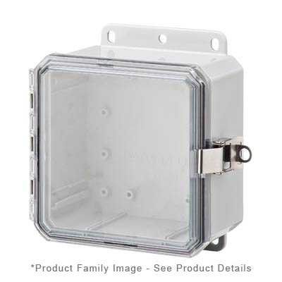 Integra P6063LPCLL NEMA 4X Polycarbonate Enclosure_THUMBNAIL