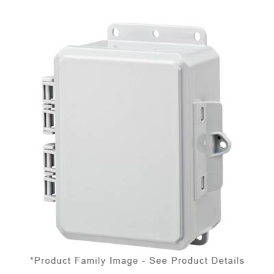 Integra P8063 NEMA 4X and 6P Polycarbonate Enclosure_THUMBNAIL