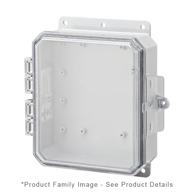 Integra P8063C NEMA 4X and 6P Polycarbonate Enclosure_THUMBNAIL