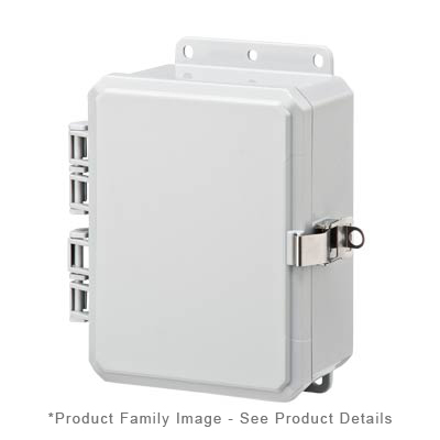 Integra P8063LL NEMA 4X Polycarbonate Enclosure_THUMBNAIL