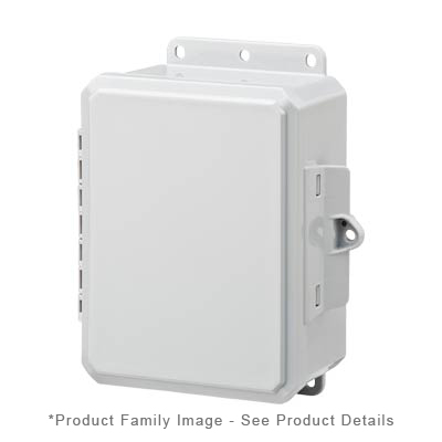 Integra P8063LP NEMA 4X and 6P Polycarbonate Enclosure_THUMBNAIL