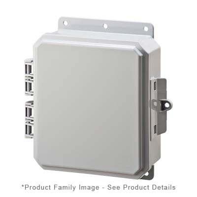 Integra P9082 NEMA 4X and 6P Polycarbonate Enclosure