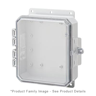 Integra P9082C NEMA 4X and 6P Polycarbonate Enclosure
