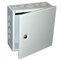 BUD Industries JBH-4960-KO NEMA 1 Metal Junction Box_THUMBNAIL