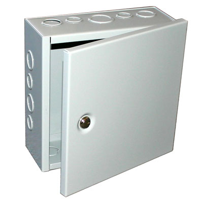 BUD Industries JBH-4959-KO NEMA 1 Metal Junction Box