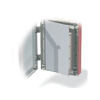 Fibox FP A 100/130  Aluminum Front Panel - 4.7 x 2.4