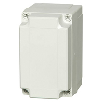 Fibox UL PC 100/75 HG NEMA 4X Polycarbonate Enclosure