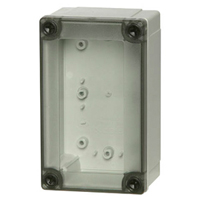 Fibox UL PC 100/75 HT NEMA 4X Polycarbonate Enclosure