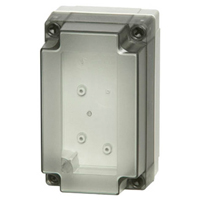Fibox UL PC 100/75 LT NEMA 4X Polycarbonate Enclosure_THUMBNAIL