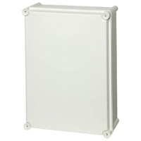 Fibox PC 3828 13 G-2FSH NEMA 4X & 6P Polycarbonate Enclosure