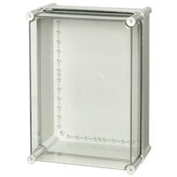 Fibox PC 3828 13 T-2FSH NEMA 4X & 6P Polycarbonate Enclosure
