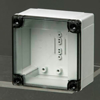 Fibox UL PC 95/75 HT NEMA 4X Polycarbonate Enclosure
