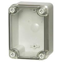 Fibox PC B 85 T NEMA 4X&6P Polycarbonate Enclosure