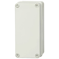 Fibox PC D 65 G NEMA 4X&6P Polycarbonate Enclosure