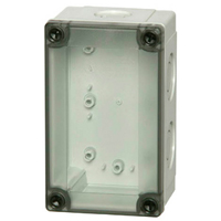 Fibox PCM 100/75 T NEMA 4X Polycarbonate Enclosure_THUMBNAIL