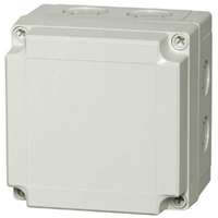 Fibox PCM 125/125 G NEMA 4X Polycarbonate Enclosure