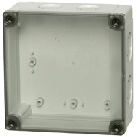 Fibox PCM 125/125 T NEMA 4X Polycarbonate Enclosure