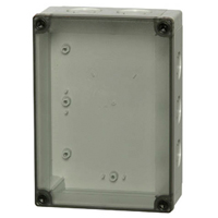 Fibox PCM 150/125 T NEMA 4X Polycarbonate Enclosure