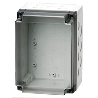 Fibox PCM 150/100 XT NEMA 4X Polycarbonate Enclosure