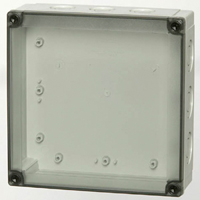 Fibox PCM 175/75 T NEMA 4X Polycarbonate Enclosure