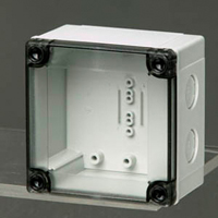 Fibox PCM 95/75 T NEMA 4X Polycarbonate Enclosure