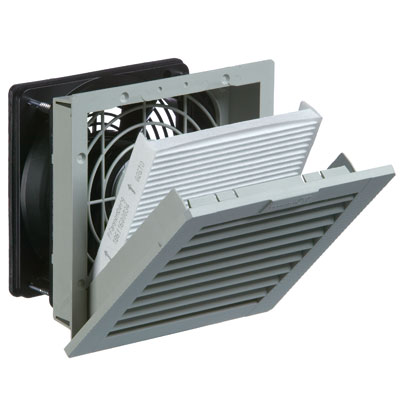 Pfannenberg 11622154055 Enclosure Filter Fan 38 CFM for Cooling