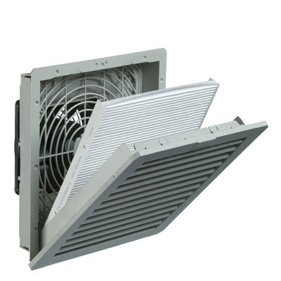 Pfannenberg 11642104055 Enclosure Filter Fan 94 CFM for Cooling
