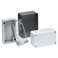 BUD Industries PN-1320 NEMA 4X Polycarbonate Enclosure