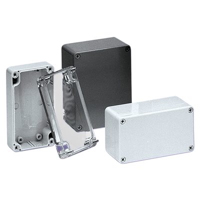 BUD Industries PN-1328 NEMA 4X Polycarbonate Enclosure