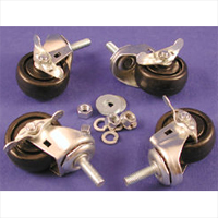 Hammond RRLDCASTER Light Duty Casters