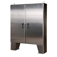 Free-Standing Enclosures (Stainless Steel)