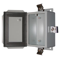 BUD Industries SN-3704 NEMA 4X Metal Enclosure