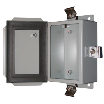 BUD Industries SN-3703 NEMA 4X Metal Enclosure