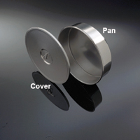 CS8W/R - 8 inch Stainless Cover with Lifting Ring for Test Sieve